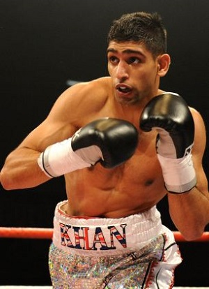 Khan is 29-3 with 19 KOs as a pro.