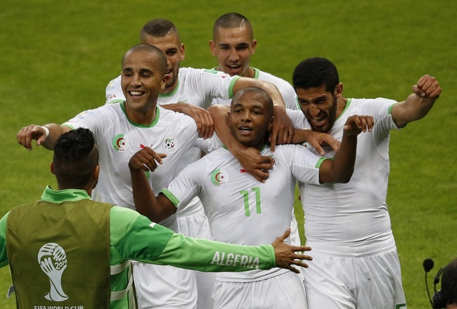 Algeria finished 2nd in Group H at the 2014 World Cup.
