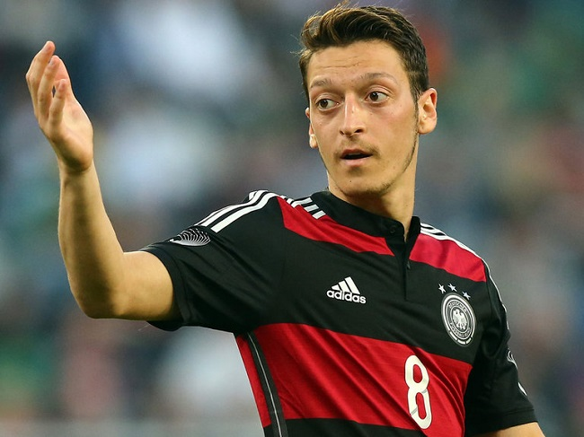 Germany's Mesut Ozil is one of the World Cup's star attractions.