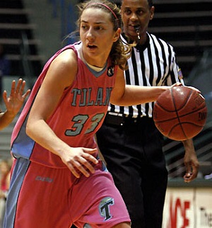 Kaljo averaged 5.8 points in her senior season at Tulane.