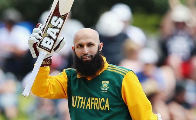 South African cricket captain Hashim Amla