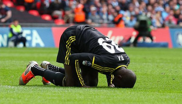 Demba Ba has scored 16 goals in 20 matches with Besiktas this season.