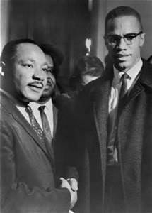 Dr. King and Malcolm X