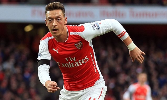 Mesut Ozil says he prays and recites from the Quran before each match.