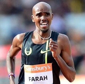 Farah has five European Championship gold medals.