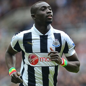 Cisse leads Newcastle United with 11 goals this season.