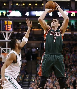 Bucks forward Ersan Ilyasova