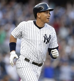 A-Rod has 667 career home runs through Jan. 20