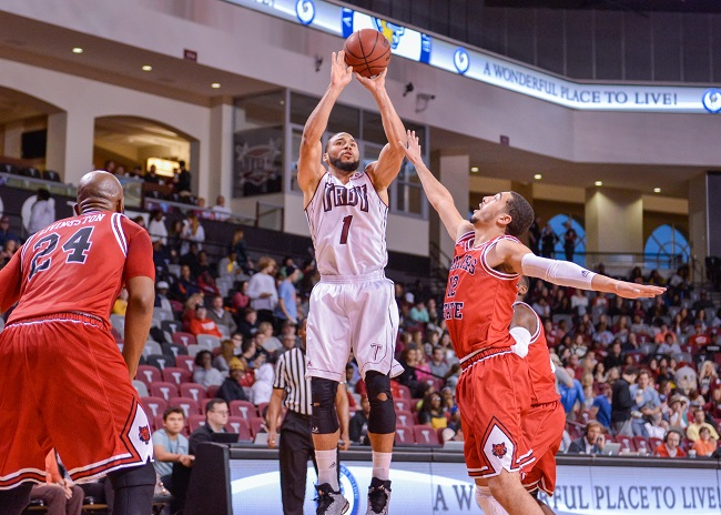 Musa Abdul-Aleem averaged 16.0 points per game as a senior. (Photo: Troy University Athletics)