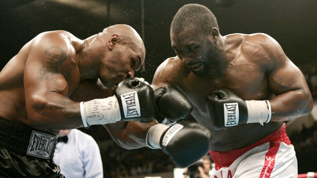 Williams knocked out Mike Tyson in 2004.