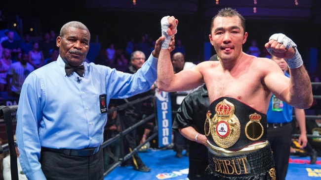 Beibut Shumenov is the WBA's interim cruiserweight champion.