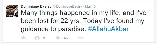 easley muslim New england patriots' dominique easley converts to islam how did dominique  easley reveal his conversion to islam what did he write, and.