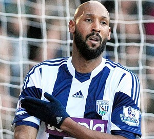 Anelka was fined and suspended for his 'quenelle' in a 2013 match.