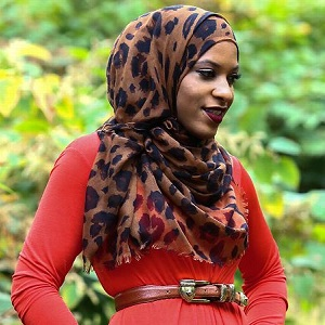 U.S. Olympic fencer and fashion designer Ibtihaj Muhammad