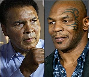 Ali (left) and Tyson