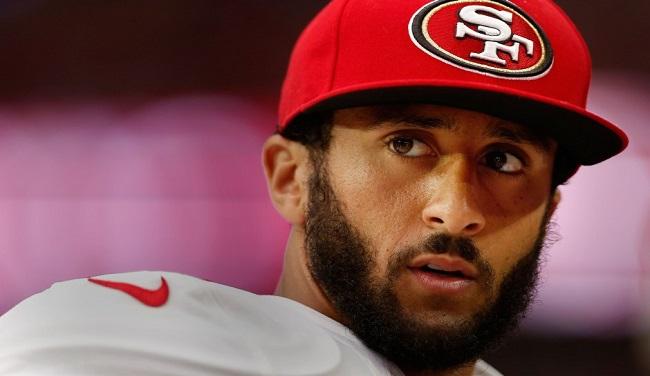 San Francisco 49ers quarterback Colin Kaepernick