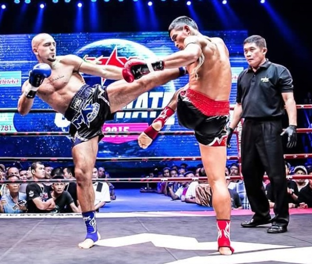 Muay Thai Pro Mohammad Khalil Is Going For Gold